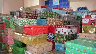Christmas Shoe Boxes for Seafarers