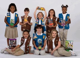 Picture of Girl Scouts