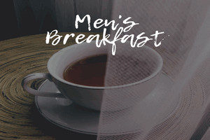 Coffee Cup representing Men's Breakfast