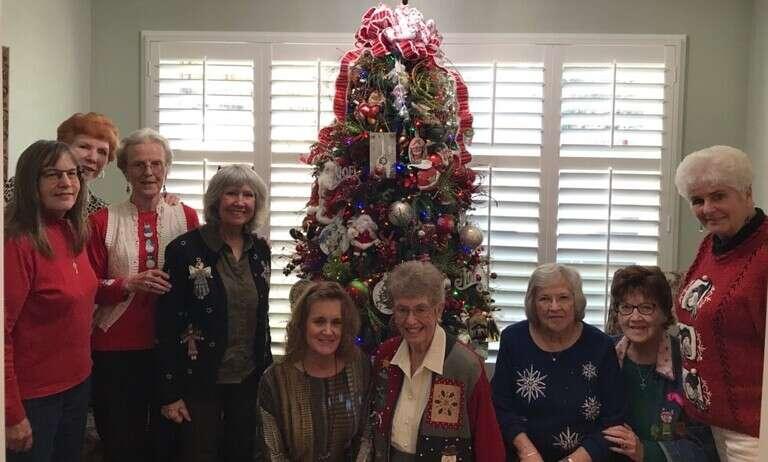 Women attending Elizabeth Circle