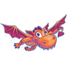 Flying Dragon logo for 2020 VBS
